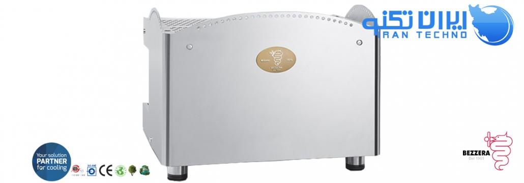 نمای پشت دستگاه بیزرا b2016